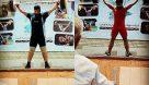 برگزاری مسابقات قهرمانى آموزشگاه ها رده سنى نونهالان مرودشت +تصاویر